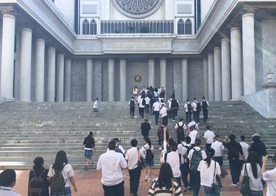 Seniors' University Visit at Assumption University On August 25, 2017