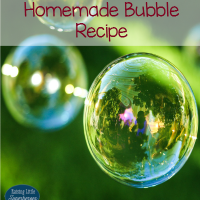 Easy-To-Make Homemade Bubble Recipe