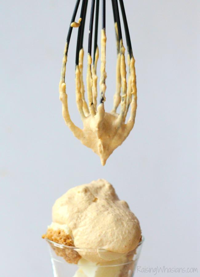 Pumpkin Whipped Cream Recipe + Easy Fall Dessert Idea