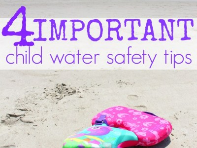 Child water safety tips puddle jumper