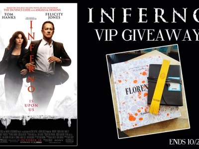 Inferno movie prize pack