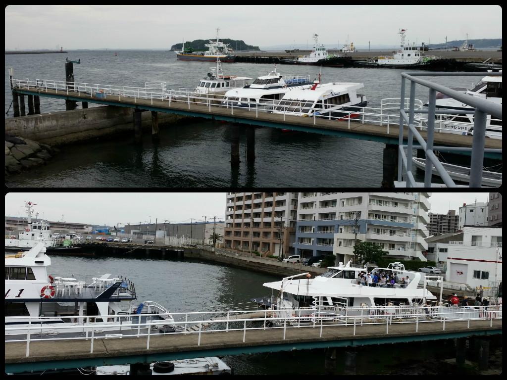 Battleship Mikasa 三笠 : View from the  ship