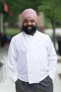 Randhir Singh, chef at Zayka