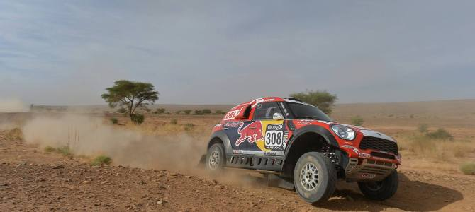 Rally of Morocco: Sainz leads after second loop