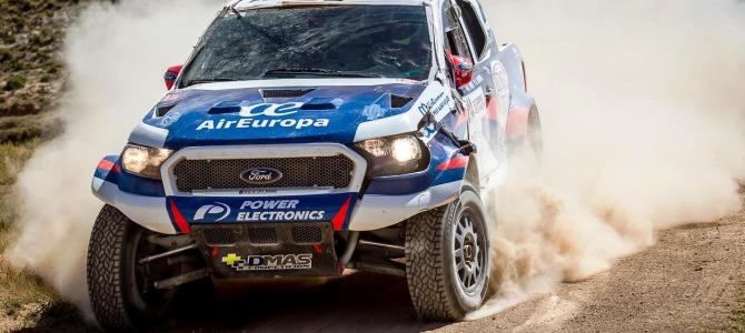 SPANIARD PONS TEAMS UP WITH RONNIE GRAUE TO DRIVE  DMAS SOUTH RACING FORD RANGER IN BAJA POLAND
