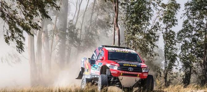 EXCITEMENT AS TOYOTA GAZOO RACING SA'S HILUX EVO JOINS THE FRAY AT SUN CITY