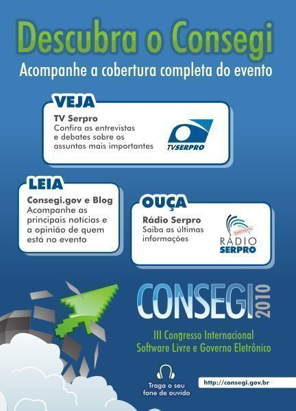 Ya en Brasilia, en el Consegi 2010
