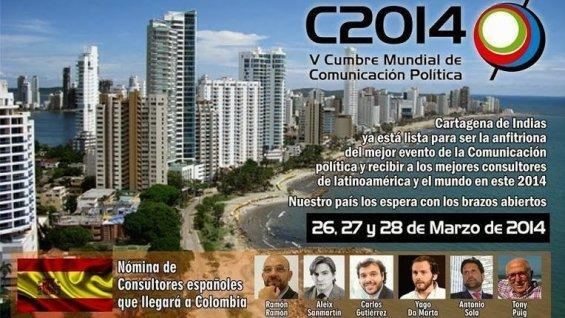 Cumbre politica 2014 España V Cumbre Mundial Comunicación Política