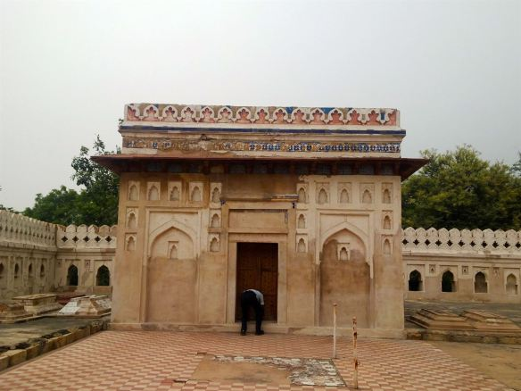 The tomb of Jamali and Kamali