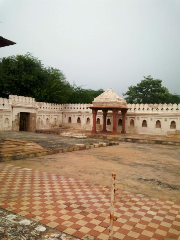 The chatri in the tomb compound