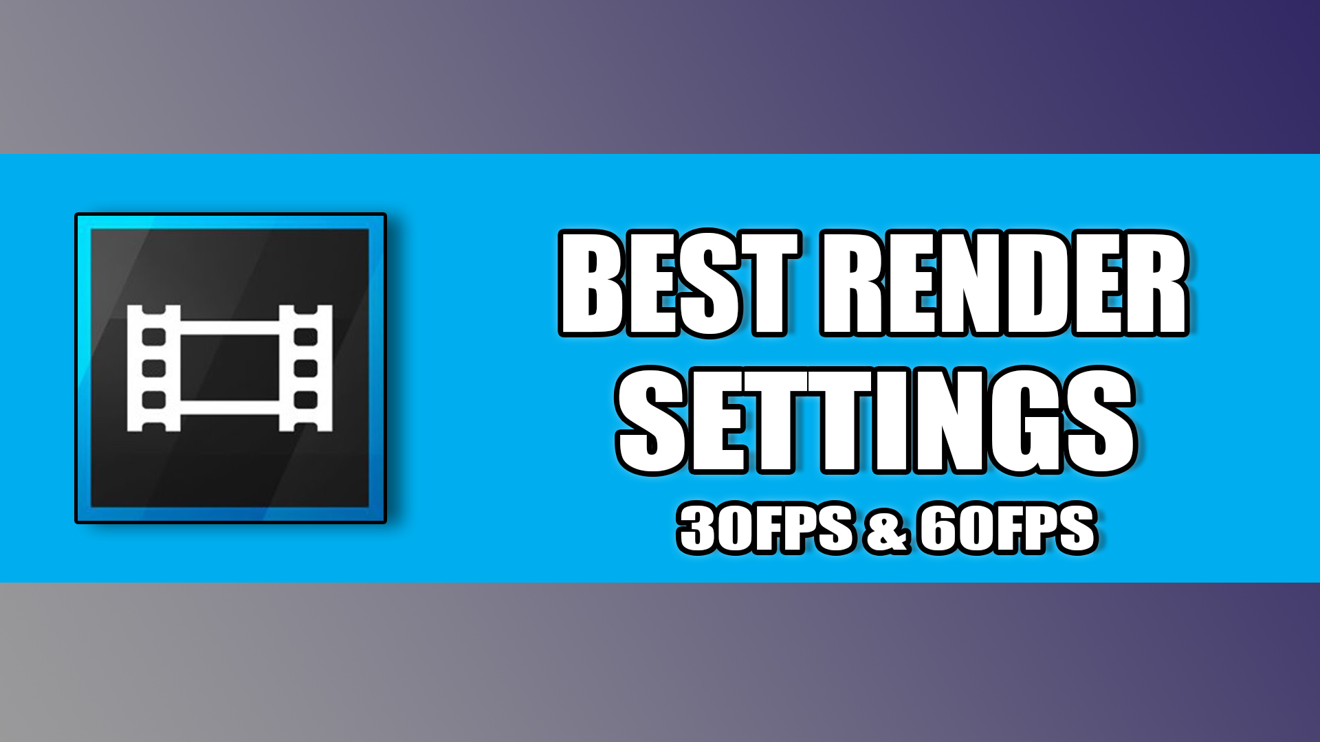 Fullsize Of Best Sony Vegas Render Settings