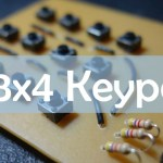 DIY 3×4 Keypad for the Arduino (includes Schematics )