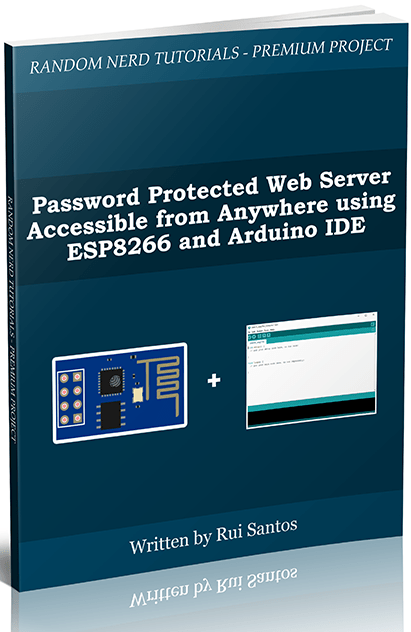 Password protected web server accessible from anywhere