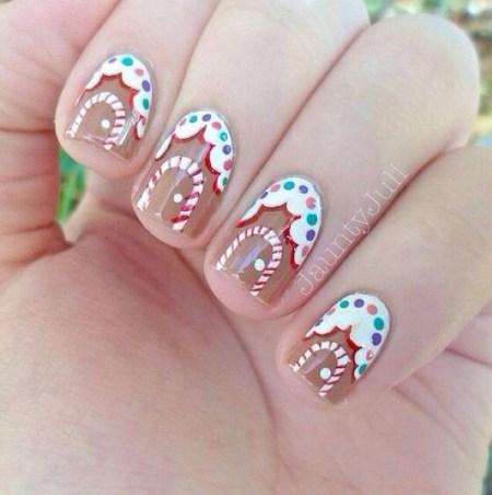 easy nail art designs for christmas random talks