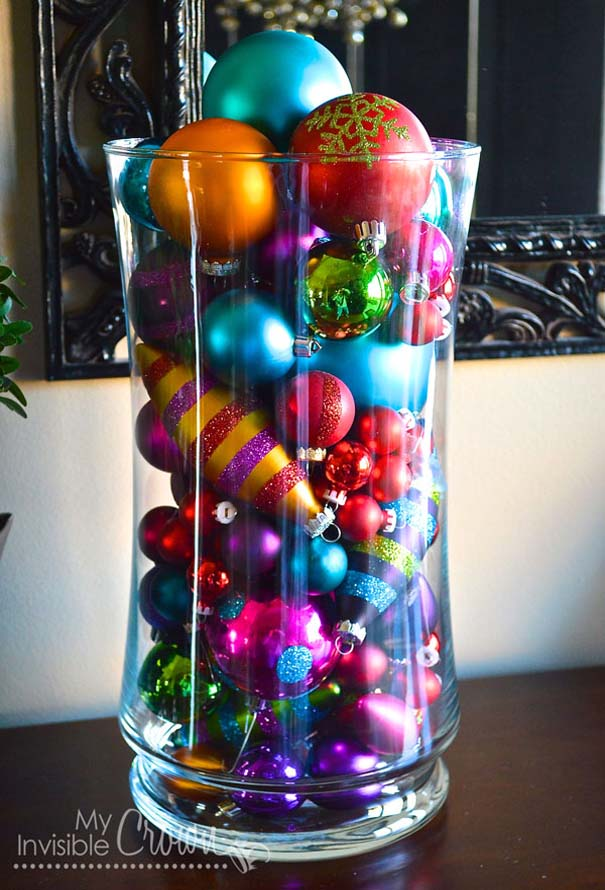 Decorating Ideas > 50 Easy DIY Christmas Decorations That You Can Actually  ~ 042726_Quick Christmas Decoration Ideas