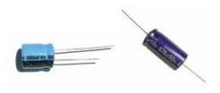 komponen-komponen elektronika - kapasitor