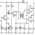 Gambar Skema Rangkaian Modulator Pemancar