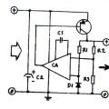 Gambar Skema Rangkaian Stabilizer Sederhana