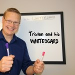Tristan and his WHITEBOARD How to buy a house