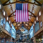 Memorial Day in Branson, Missouri, at the Bass Pro Shop