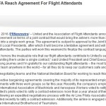 United AFA Press Release
