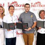 Ganadores de la II Jornadas Gastronómicas Isla Bonita en la categoría de chef.