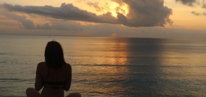 Raquel Revuelta en Lombok