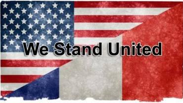 We Are With you France! – Nous sommes avec vous la France et Nous vous aimons !