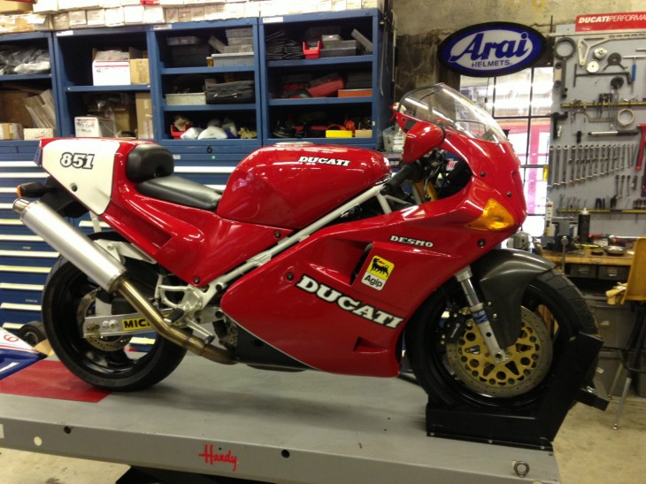 1991 Ducati 851 SP3 for sale