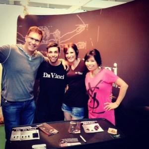 Equipo de daVinci en Expogrow Irún 2014