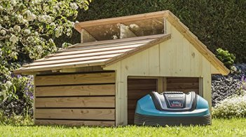 Mahroboter Garage Fur Den Kleinen Gartenhelfer
