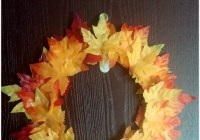 DIY- Reusing an Old Gasket to make a Fall Wreath