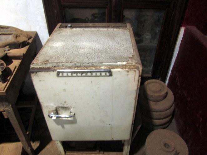 The antique refregierator