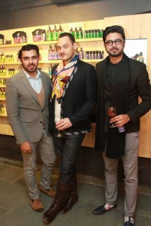 Cyril Feuillebois with Shivan & Narresh