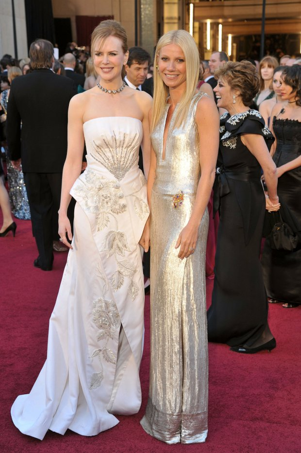 Nicole Kidman (in Dior) and Gwyneth Paltrow (in Calvin Klien), 2011