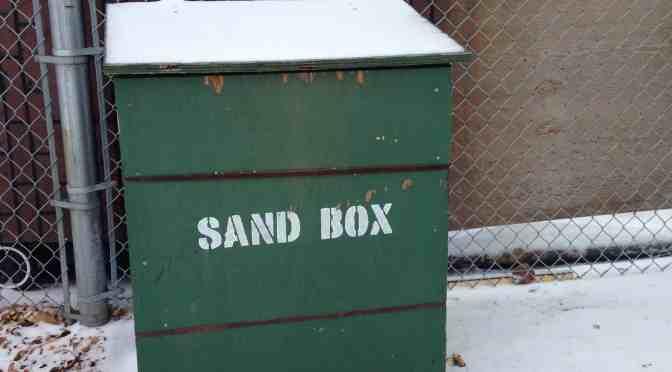 Change to city sandbox program