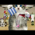 "Crusha ""Gym Kittens"" TV commercial"