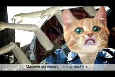 Screaming Flailing Machine