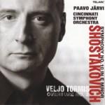 パーヴォ・ヤルヴィ指揮/ショスタコーヴィチ:交響曲第10番/シンシナティ交響楽団