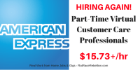 AMEX Part-Time Customer Service