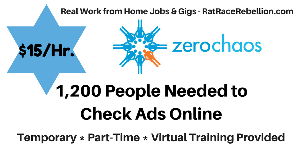 Work from Home - Earn $15/Hr. Checking Ads Online