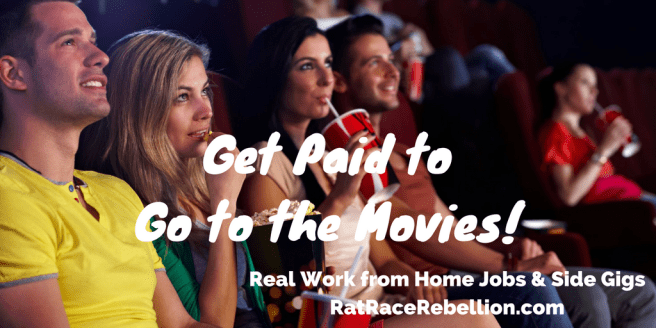 Get Paid to Go to the Movies!