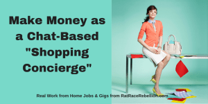 "Make Money as a Chat-Based ""Shopping Concierge"""