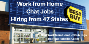 Work from Home Chat Jobs