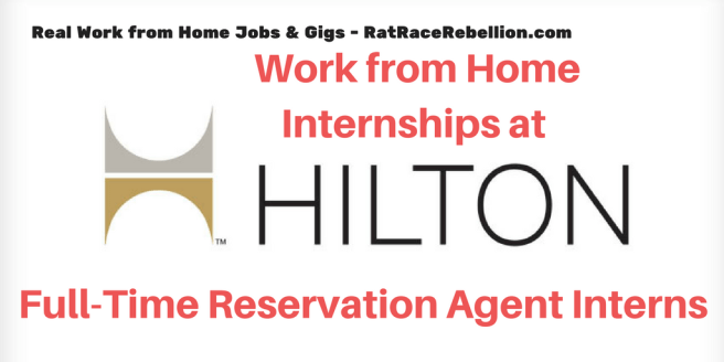 Work from Home Internships at