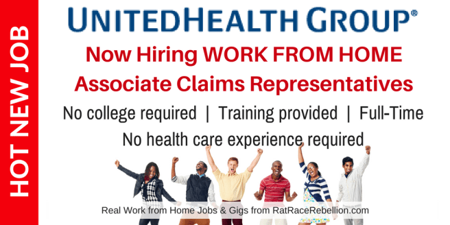 Exciting New Work from Home Opportunity with UnitedHealth Group!