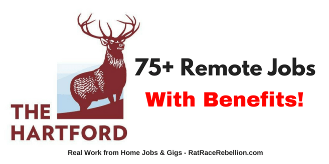 100+ Remote Jobs with The Hartford