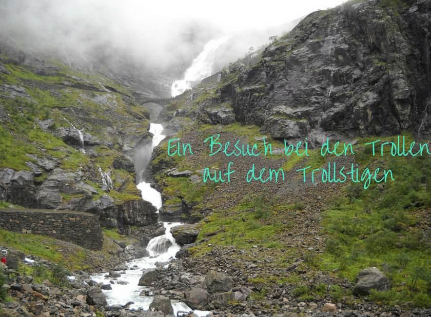 Åndalsnes, besuche die Trolle auf der Trollstigen