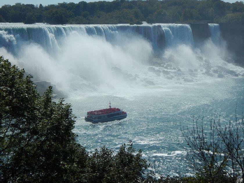 Toronto, unser Ausflug zu den Niagarafällen. Ein Mega-Naturschauspiel!