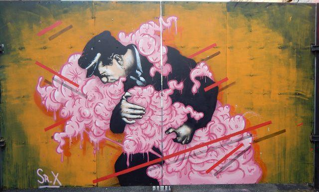 Camden Market Graffiti